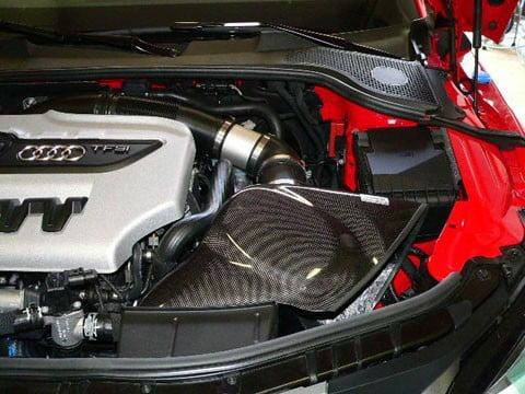 GruppeM Carbon Fiber Ram Air Intake System Audi 8J TT   TT RS/S 06-15