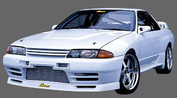 GP Sports Front Bumper | air duct 01 Nissan Skyline GT-R R32 89-94
