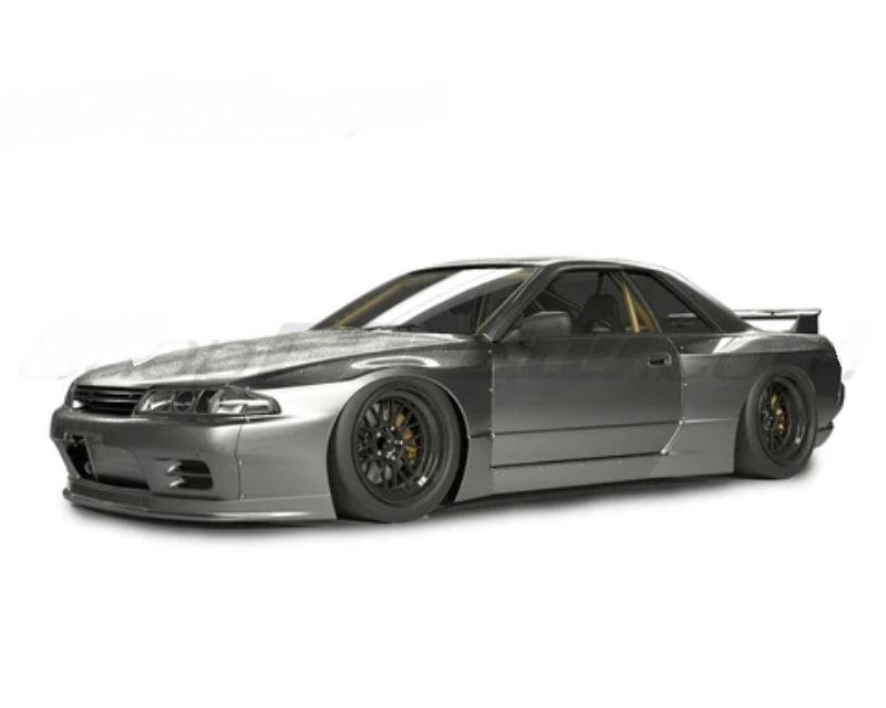 Pandem Full Body Kit w/o Wing Nissan Skyline GTR V1.5 1989-1994