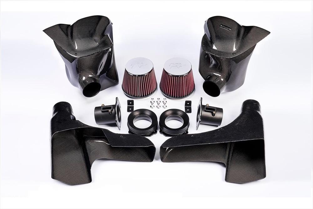 GruppeM Carbon Duct Ram Air Intake System Nissan GT-R R35 Evolution 2007+