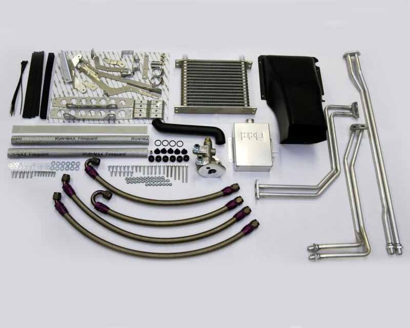 HKS Dual Clutch Trans Cooler Kit Nissan R35 GT-R VR38DETT 12-20