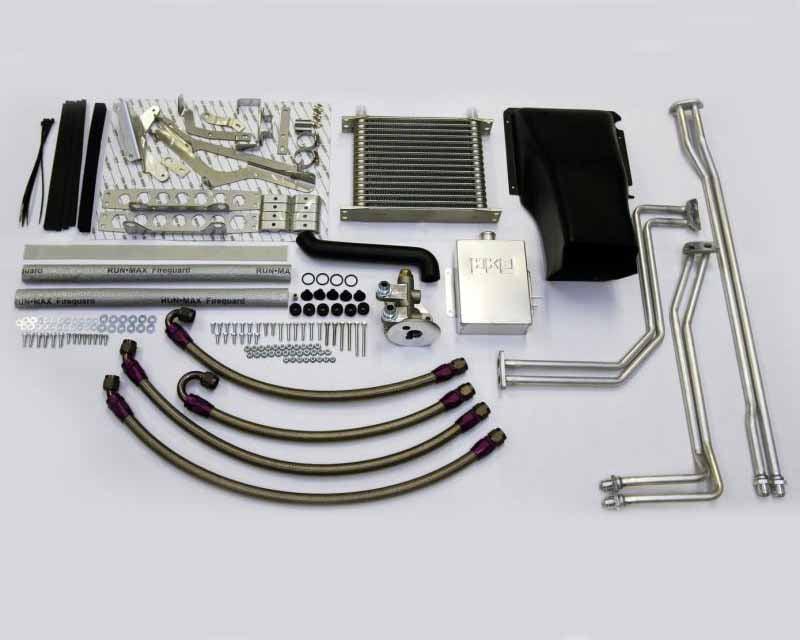 HKS Dual Clutch Trans Cooler Kit Nissan R35 GT-R VR38DETT 09-20