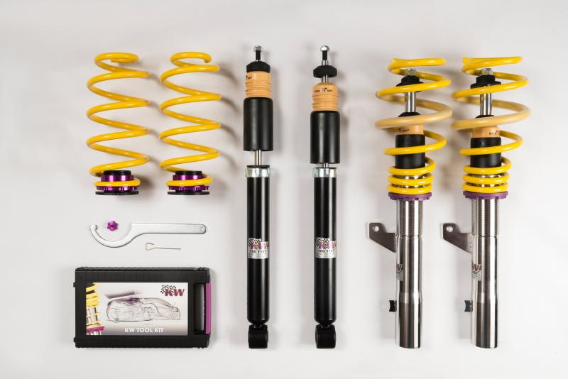 KW Coilover Kit V1 Audi TT Coupe Quattro | TTS Coupe | TT RS Coupe (8J | A5) w/o Magnetic Ride | Volkswagen Golf VI w/o DCC 07-14