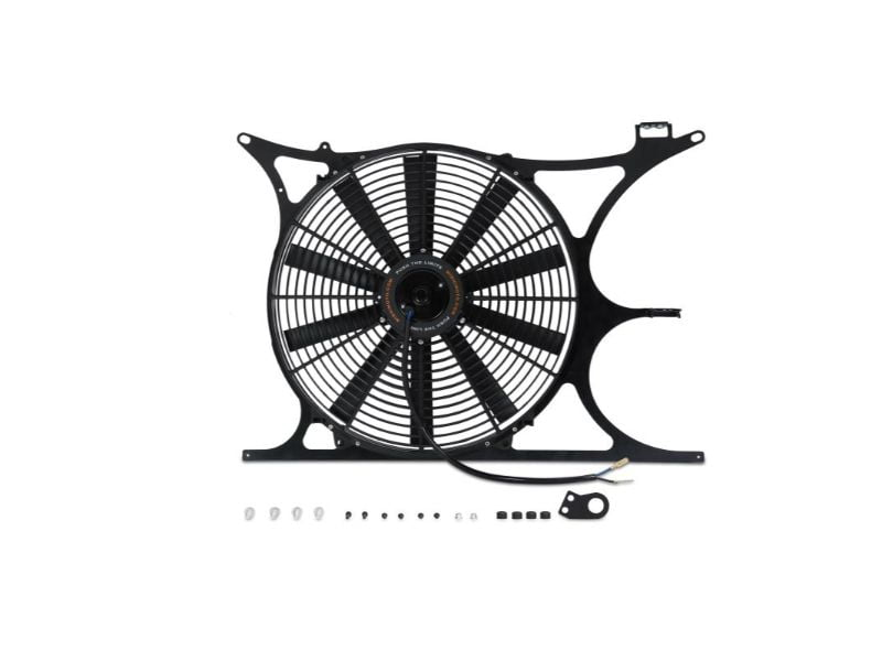 Mishimoto Performance Aluminum Fan Shroud Kit with Electric Fan Controller (NPT and Probe Included) BMW E36 1992-1999