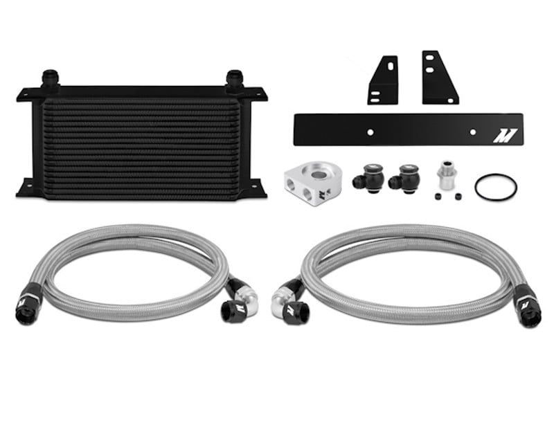 Mishimoto Black Oil Cooler Kit Nissan 370Z 3.7L 09-14