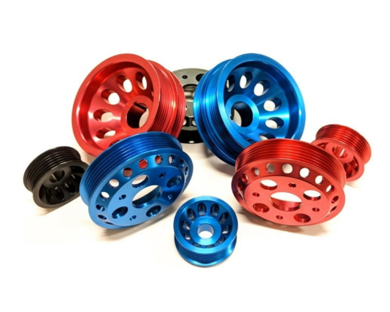 NonStopTuning Lightweight Crank, Alternator & Water Pump Pulley 3 Piece Kit Nissan 350Z 03-06