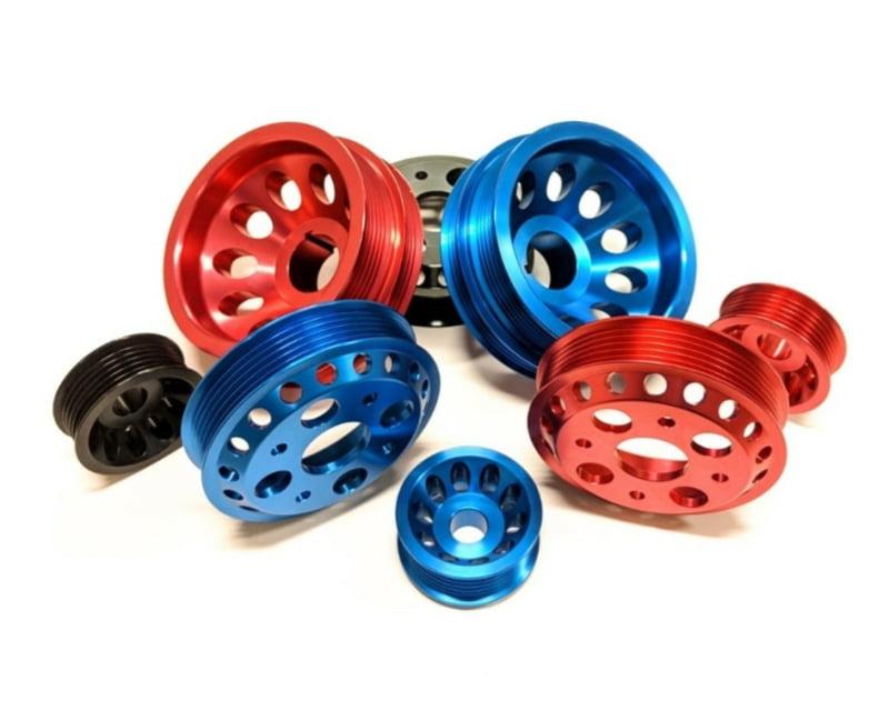 NonStopTuning Lightweight Alternator & Water Pump Pulley 2 Piece Kit Nissan 350Z 03-06