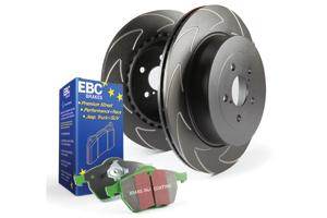 EBC Brakes Pad and Disc Kit to fit Rear for AUDI TT quattro 8N 1.8 Turbo 180BHP99-2006 (PD16KR030)