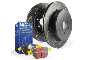 EBC Brakes Pad and Disc Kit to fit Rear for FORD Focus (Mk2) 2.5 Turbo ST 225BHP2005-2011 (PD18KR030)