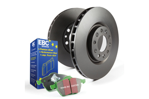 EBC Brakes Pad and Disc Kit to fit Front for BMW 3 Series (E36) 316 1.691-2000, BMW Z3 1.8 116BHP95-98, BMW Z3 1.9 140BHP97-2003 (PD01KF185)