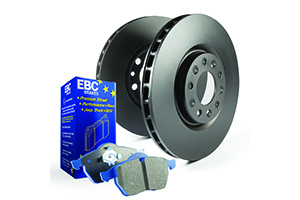 EBC Brakes Pad and Disc Kit to fit Rear for FORD Focus (Mk2) 2.5 Turbo ST 225BHP2005-2011 (PD04KR320)