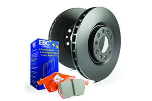 EBC Brakes Pad and Disc Kit to fit Rear for AUDI TT quattro 8N 1.8 Turbo 180BHP99-2006 (PD05KR483)