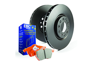 EBC Brakes Pad and Disc Kit to fit Front for BMW 3 Series (E36) 316 1.691-2000, BMW Z3 1.8 116BHP95-98, BMW Z3 1.9 140BHP97-2003 (PD05KF1132)