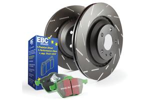 EBC Brakes Pad and Disc Kit to fit Rear for AUDI TT 8N 1.8 Turbo 150BHP2002-2006, AUDI TT 8N 1.8 Turbo 180BHP98-2006 (PD06KR027)