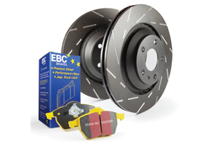 EBC Brakes Pad and Disc Kit to fit Rear for FORD Focus (Mk2) 2.5 Turbo ST 225BHP2005-2011 (PD08KR165)
