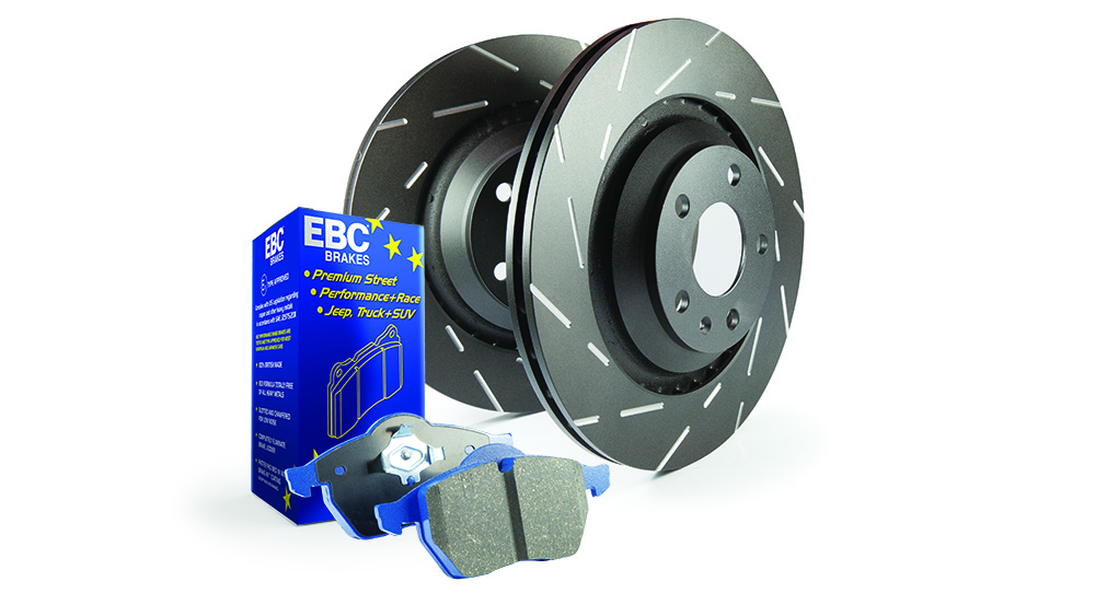 EBC Brakes Pad and Disc Kit to fit Rear for FORD Focus (Mk2) 2.5 Turbo ST 225BHP2005-2011 (PD09KR320)