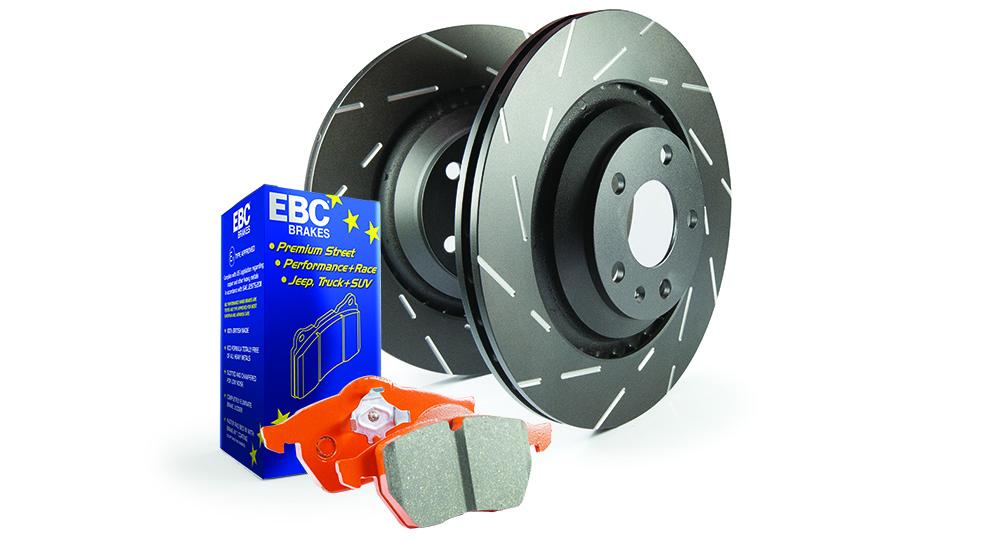 EBC Brakes Pad and Disc Kit to fit Rear for AUDI TT quattro 8N 1.8 Turbo 180BHP99-2006 (PD10KR483)