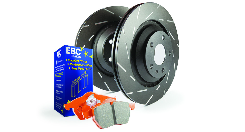 EBC Brakes Pad and Disc Kit to fit Front for BMW Z3 3.0 231BHP2000-2003 (PD10KF260)