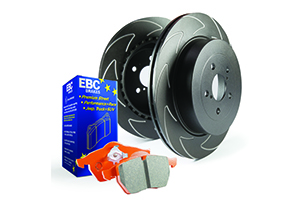 EBC Brakes Pad and Disc Kit to fit Rear for AUDI TT 8N 1.8 Turbo 150BHP2002-2006, AUDI TT 8N 1.8 Turbo 180BHP98-2006 (PD20KR511)