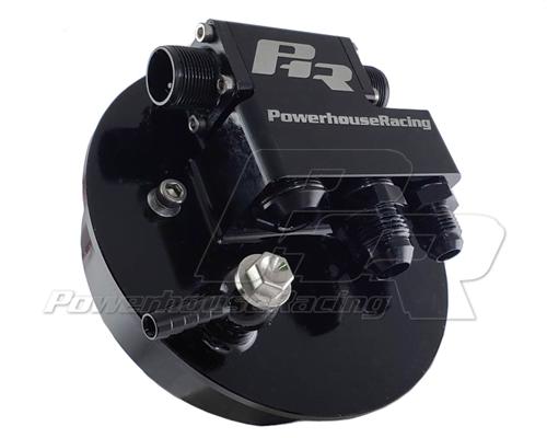 Powerhouse Racing V3 CNC Dual Walbro Fuel Pump Hanger Nissan S14 S15 R33 R34