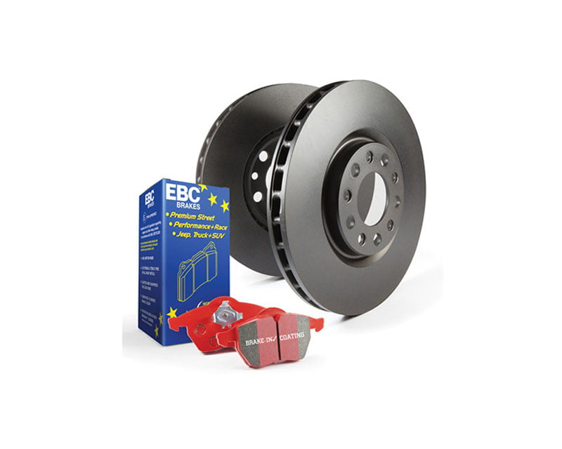 EBC Brakes S12KR Kit Number REAR Disc Brake Pad and Rotor Kit DP3690C+RK1009X BMW Rear