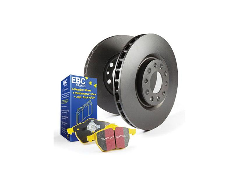 EBC Brakes S13KR Kit Number REAR Disc Brake Pad and Rotor Kit DP4690R+RK1009X BMW Rear