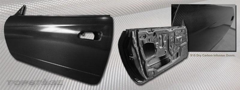 Nissan S15 Carbon Fibre Doors – Motorsport / OEM