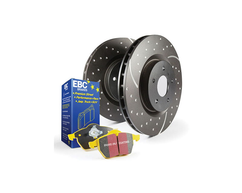 EBC Brakes S5KR Kit Number REAR Disc Brake Pad and Rotor Kit DP4690R+GD1009 BMW Rear