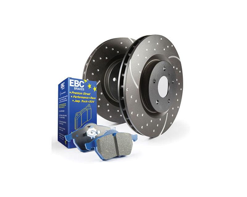 EBC Brakes S6KR Kit Number REAR Disc Brake Pad and Rotor Kit DP5690NDX+GD1009 BMW Rear