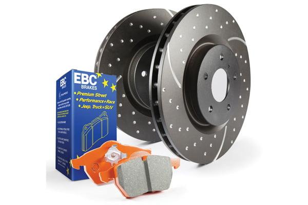 EBC Brakes S8 Kits Orangestuff and GD Rotors BMW Model #S8KF1231