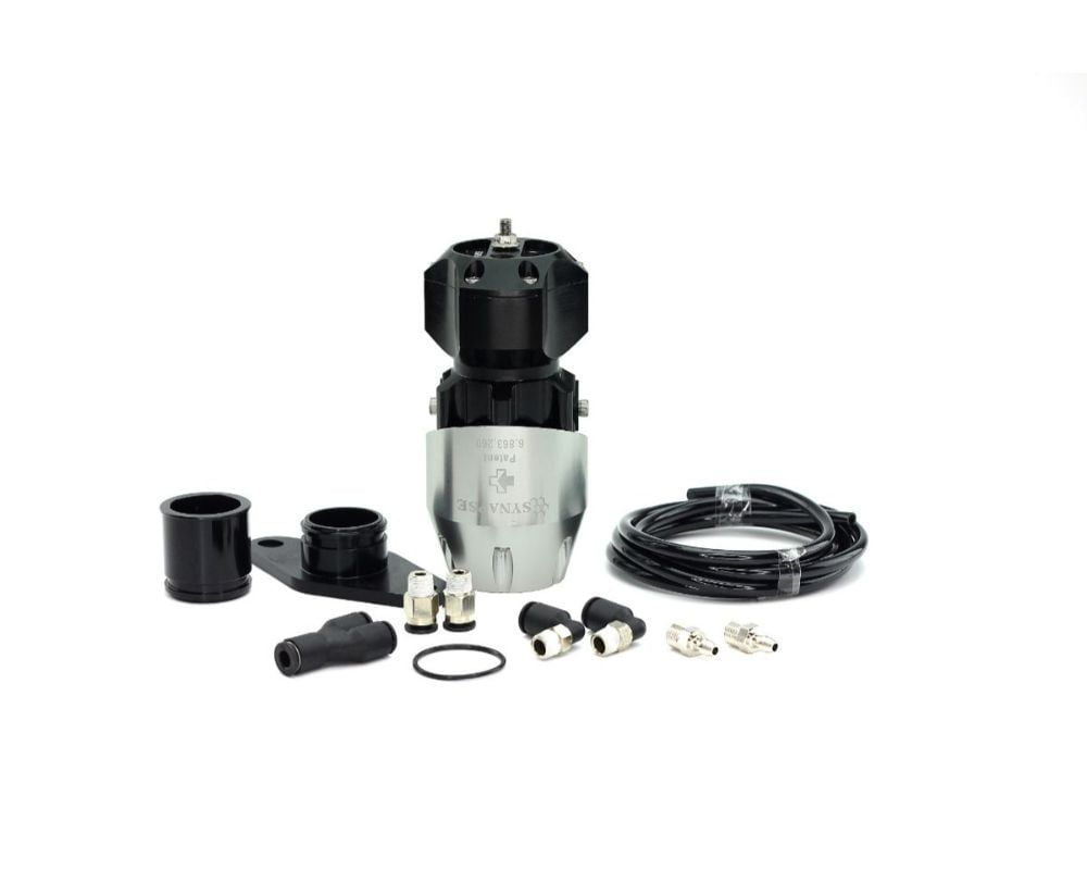 Synapse Engineering Silver/Black Synchronic Blow off Valve Kit Nissan Skyline GTS R32/R33/R34 89-02