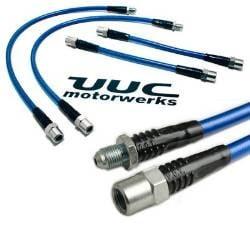 UUC Motorwerks Stainless Brake 6-Lines Kit BMW E36 | E34 | E28 | E24 | E32 85-99