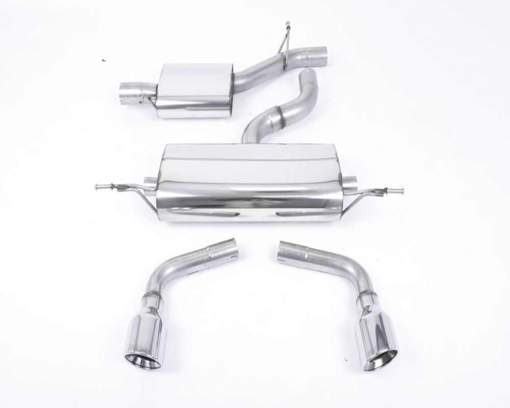 Milltek Resonated Catback Exhaust System Audi TT Mk2 3.2 Quattro 06-10 Model #SSXAU146