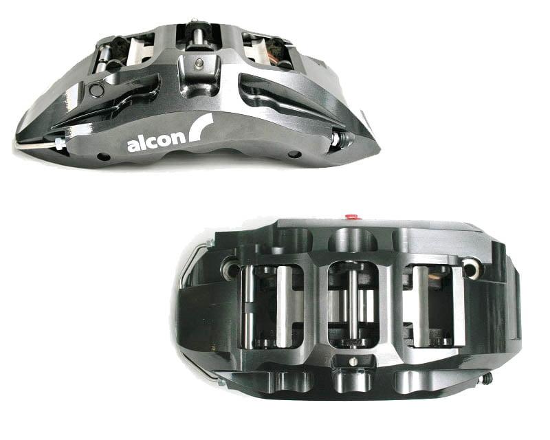 Alcon Superkit 360mm 6 Piston Front / 350mm 4 Piston Rear Brake Kit Nissan 370Z 09-14