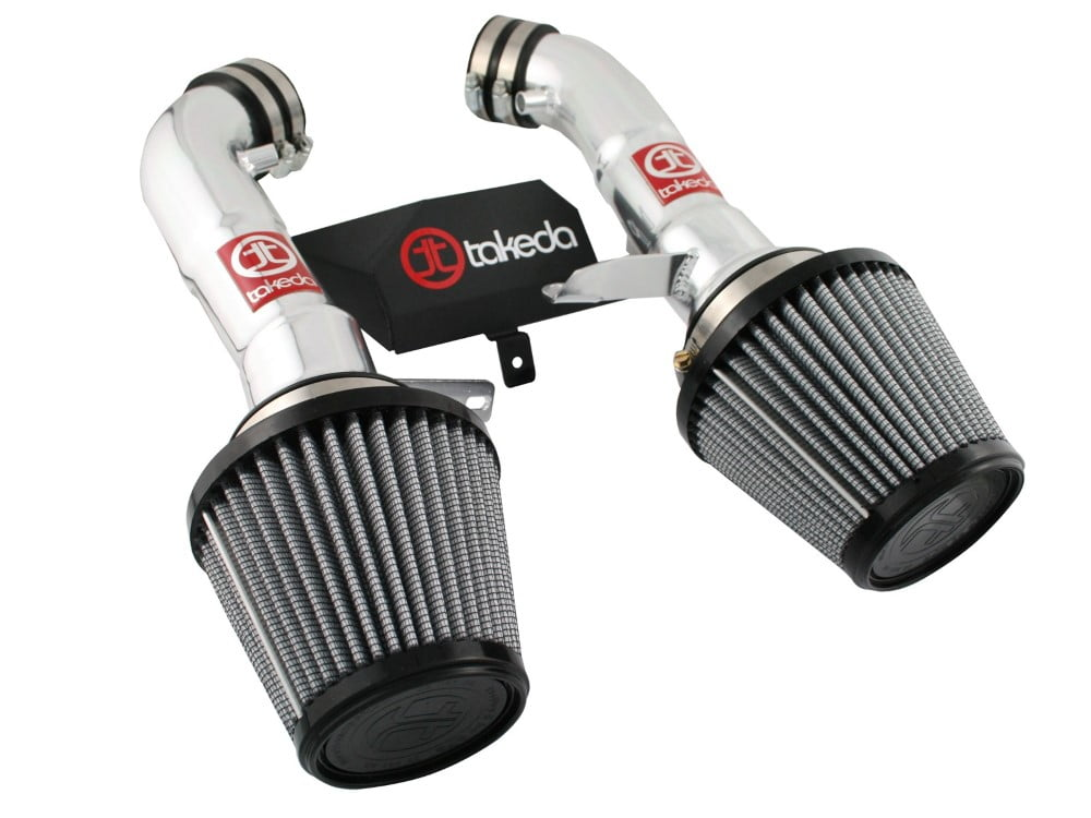 Takeda PDS Stage-2 polished Short Ram Air Intake System Nissan 370Z V6-3.7L 09-14