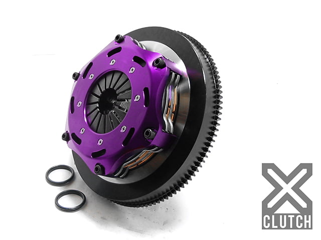 XClutch Clutch Kit with Chromoly Flywheel 7.25 and Twin Solid Ceramic Discs BMW