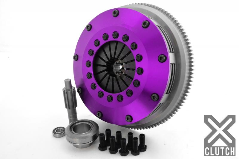 XClutch Clutch Kit with Chromoly Flywheel 8 and Twin Sprung Ceramic Clutch Discs BMW