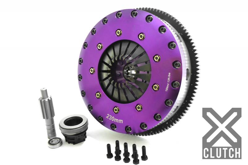 XClutch Clutch Kit with Chromoly Flywheel 9-Inch and Twin Solid Ceramic Clutch Discs BMW