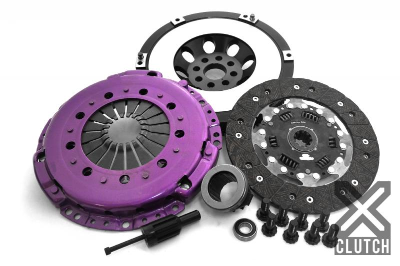 XClutch Clutch Kit with Chromoly Flywheel Stage 1 Single Sprung Organic Clutch Disc BMW