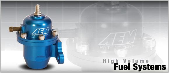 AEM Electronics High Volume Adj Fuel Pressure Regulator Acura Integra RS LS GS and GSR 94-01