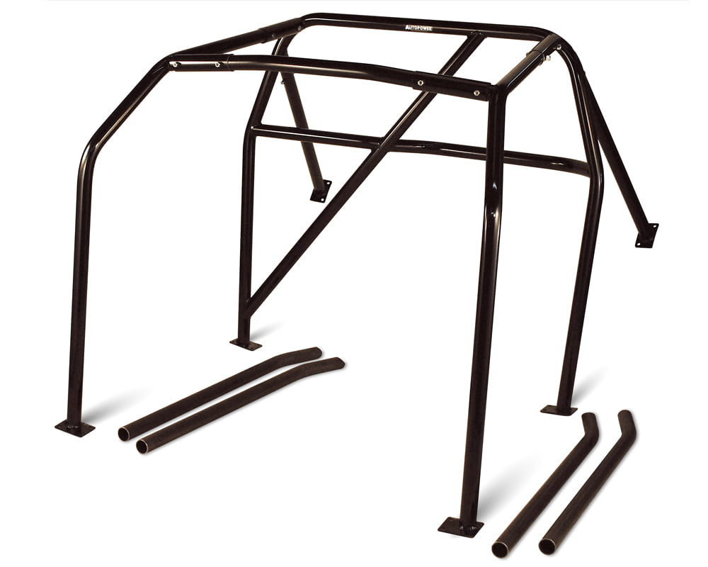 AutoPower 6Point Bolt in Roll Cage Nissan 240SX 89-93