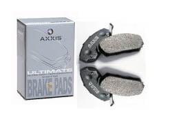 Axxis Ultimate Rear Brake Pads Nissan 350Z w/Brembo 03-08 | Mitsubishi EVO VII VIII w/Brembo 03-06 | Subaru WRX STI w/Brembo 04-10 | Infiniti G35 w/Brembo 03-04 *Clearance*