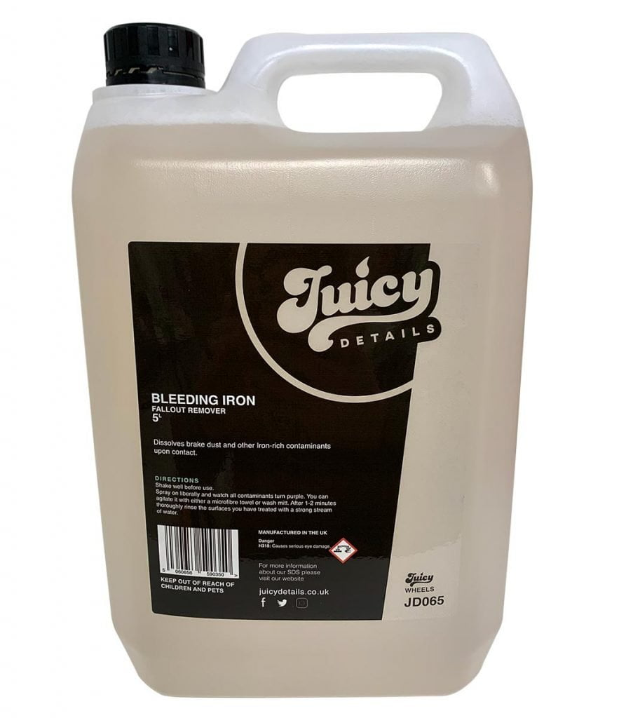 Bleeding Iron – Fallout Remover 5 Litre – Juicy Details