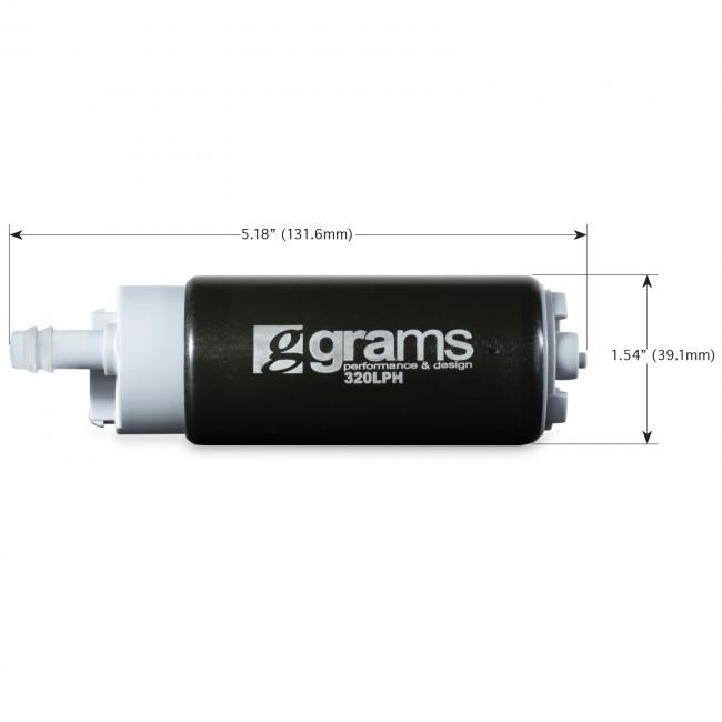 Grams 320lph In Tank Fuel Pump