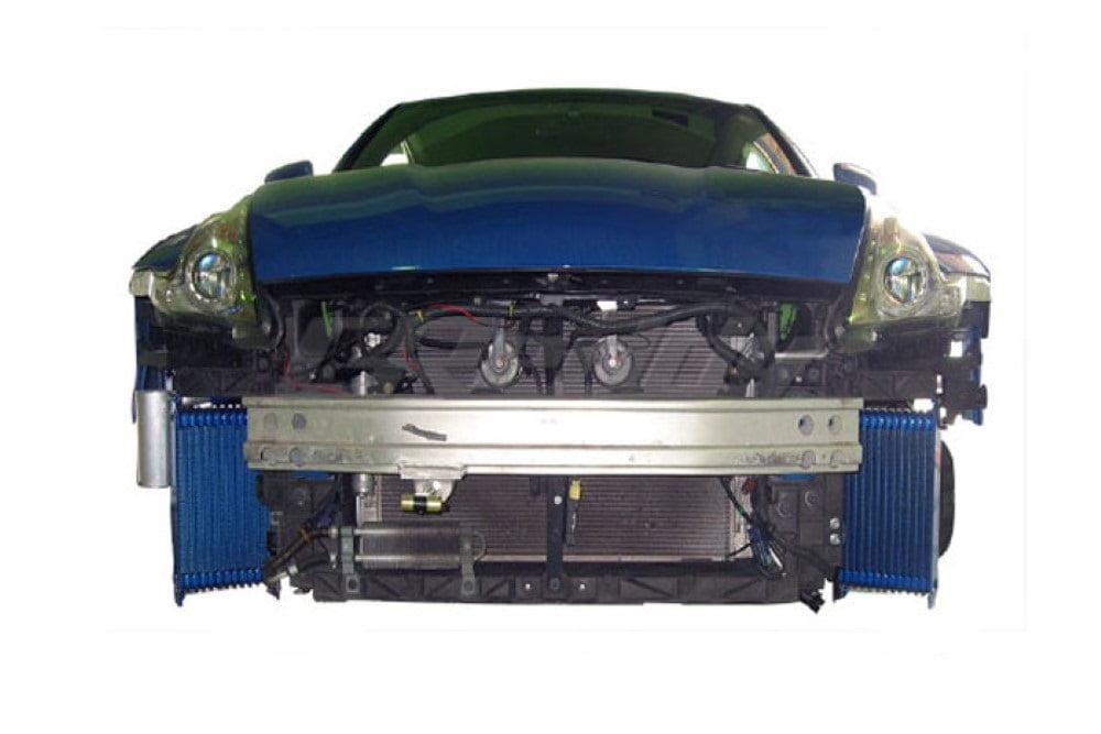 GReddy 13 Row Twin Oil Cooler Z34 Nissan 370Z 09-13