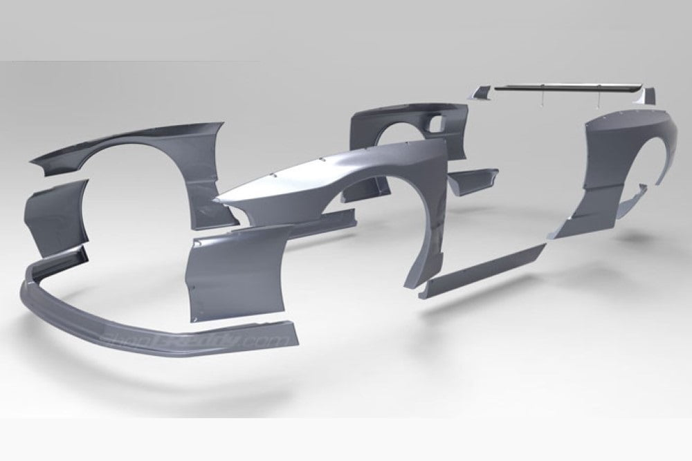 Pandem Wide-Body Aero Kit Nissan Skyline GT-R R32