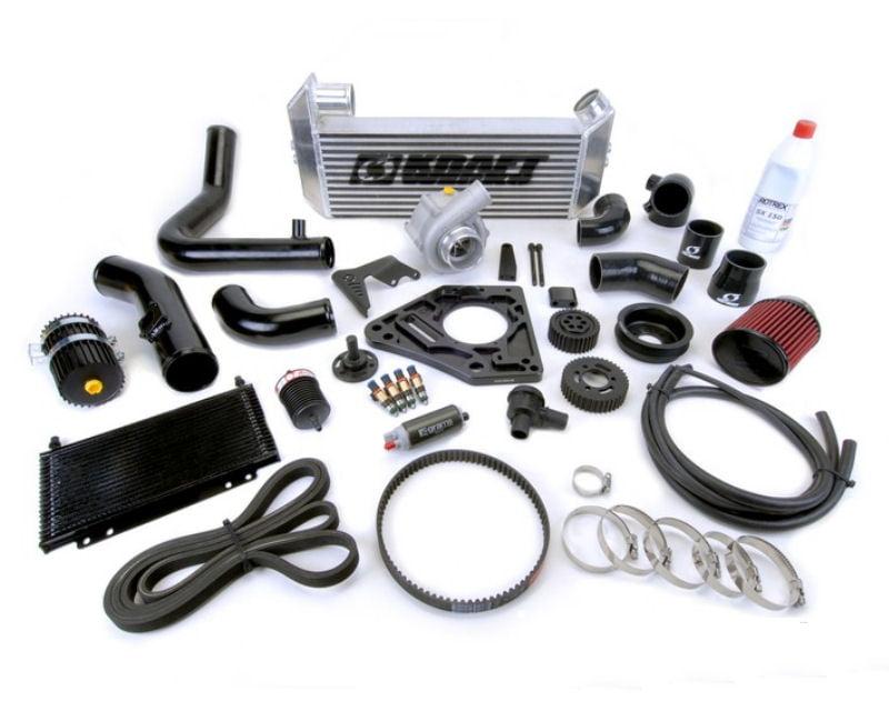 Kraftwerks Black Edition Supercharger System with EcuTek Tuning Package Mazda Miata MX-5 2.0L 06-15
