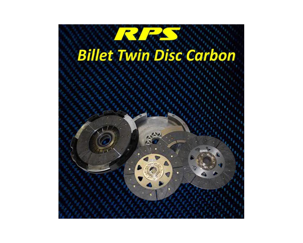 RPS 22lbs Billet Strapless Twin Disk Carbon Clutch with Aluminum Fly BMW E36 M3 94-99