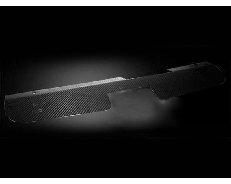Titek Carbon Radiator Cooling Shroud Nissan 350Z 03-06