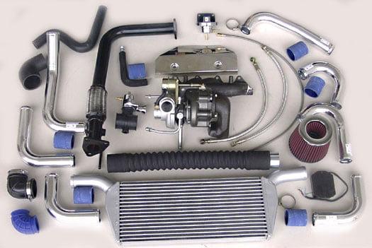 Turbo Specialties T25 Superior Turbo Kit Mazda Miata 1.8L BP-ZE 99-05